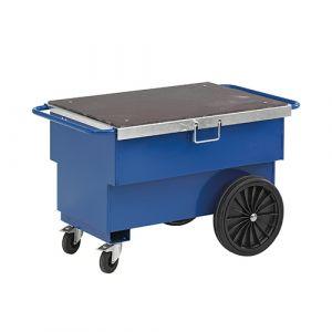 Chariot à outils - bleu - avec frein - L=1260 mm - 300 kg