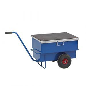 Chariot à outils - bleu - sans frein - L= 940 mm - 160 kg