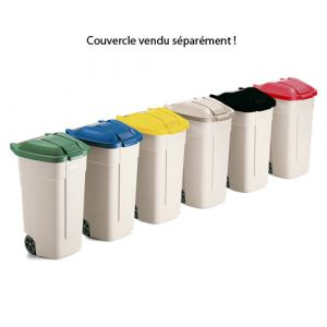 Corps de conteneurs poubelle plastique 100 litres