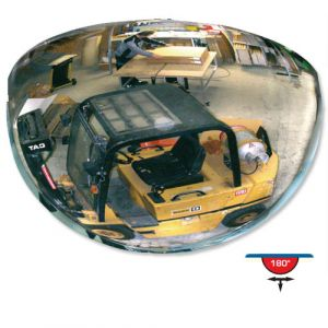 Miroir de surveillance 180° Ø 100 cm