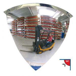 Miroir de surveillance 90° Ø 100 cm