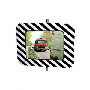 Miroir routier rectangle