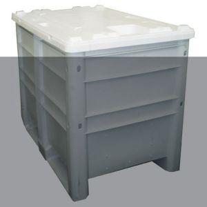 Option couvercle pour caisse plastique
