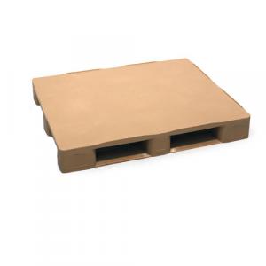 Palette plastique plateau plein 3 semelles 1200x1000 mm