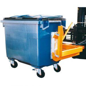 Palonnier pour conteneur à déchets 1000 L et 1100 L