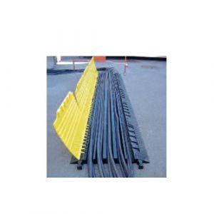 Protection mécanique pour tuyaux et câbles en polyuréthane
