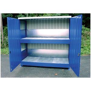 Conteneur à casiers - 2 niveaux soit 2400L