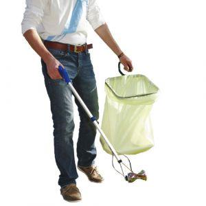 Porte sac poubelle de cantonnier