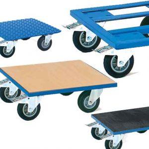 Plateaux roulants Charge max 400 kg