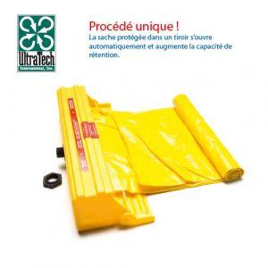 Boitier avec sache polyéthylène pour plateforme