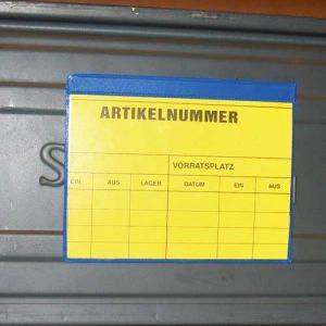 Porte étiquette aimanté A5