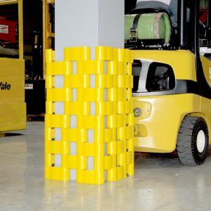 Protection en PE pour poteau dim. : 400x400 mm