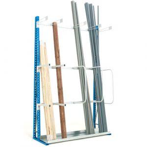 Rayonnage pour stockage vertical 1500 mm (élément départ)