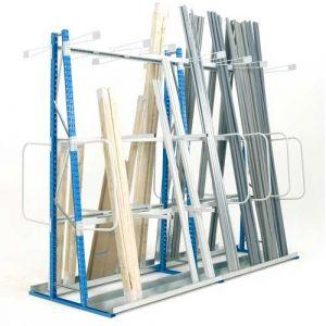 Rayonnage pour stockage vertical double faces 1800 mm (élément départ)