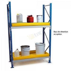 Rayonnage pour produits polluants, module largeur 1250 mm