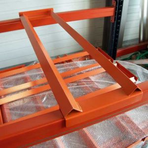 Support de fût pour rayonnage de profondeur 1100 mm