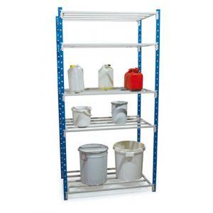 Rayonnage pour produits corrosifs