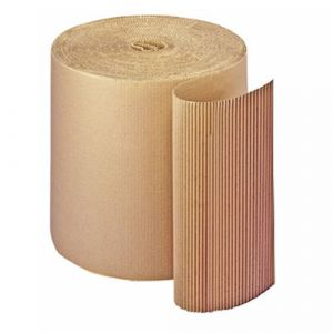 Rouleau de carton ondulé 350 g pour emballage