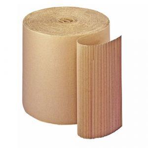 Rouleau de carton ondulé 450 g pour emballage