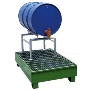 Support de soutirage pour fûts 60, 120 et 220 litres