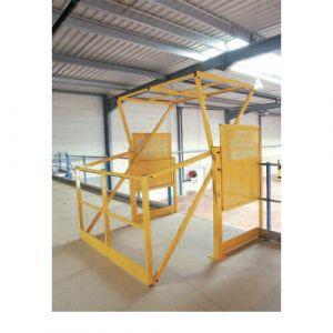 Sas de sécurité 1800x1500 mm