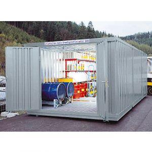 Bungalow de stockage non isolé 19 m²