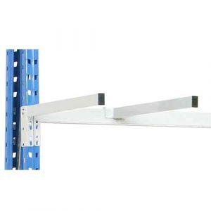 Séparation tube extrémité gauche 500 mm pour rayonnages charges longues