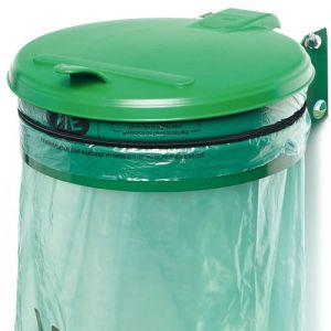 Supports muraux avec couvercle pour sac poubelle