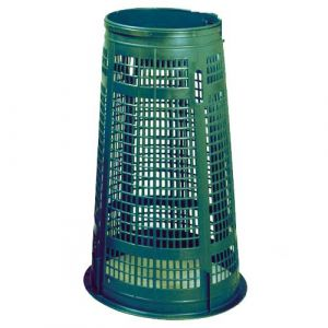 Support sac vert 110 litres sans couvercle