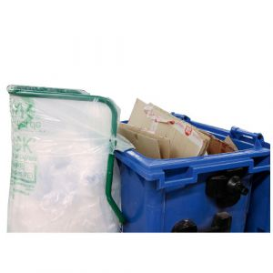Support sac poubelle pour conteneur à déchets