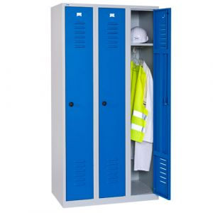 Vestiaire industrie propre 3 cases