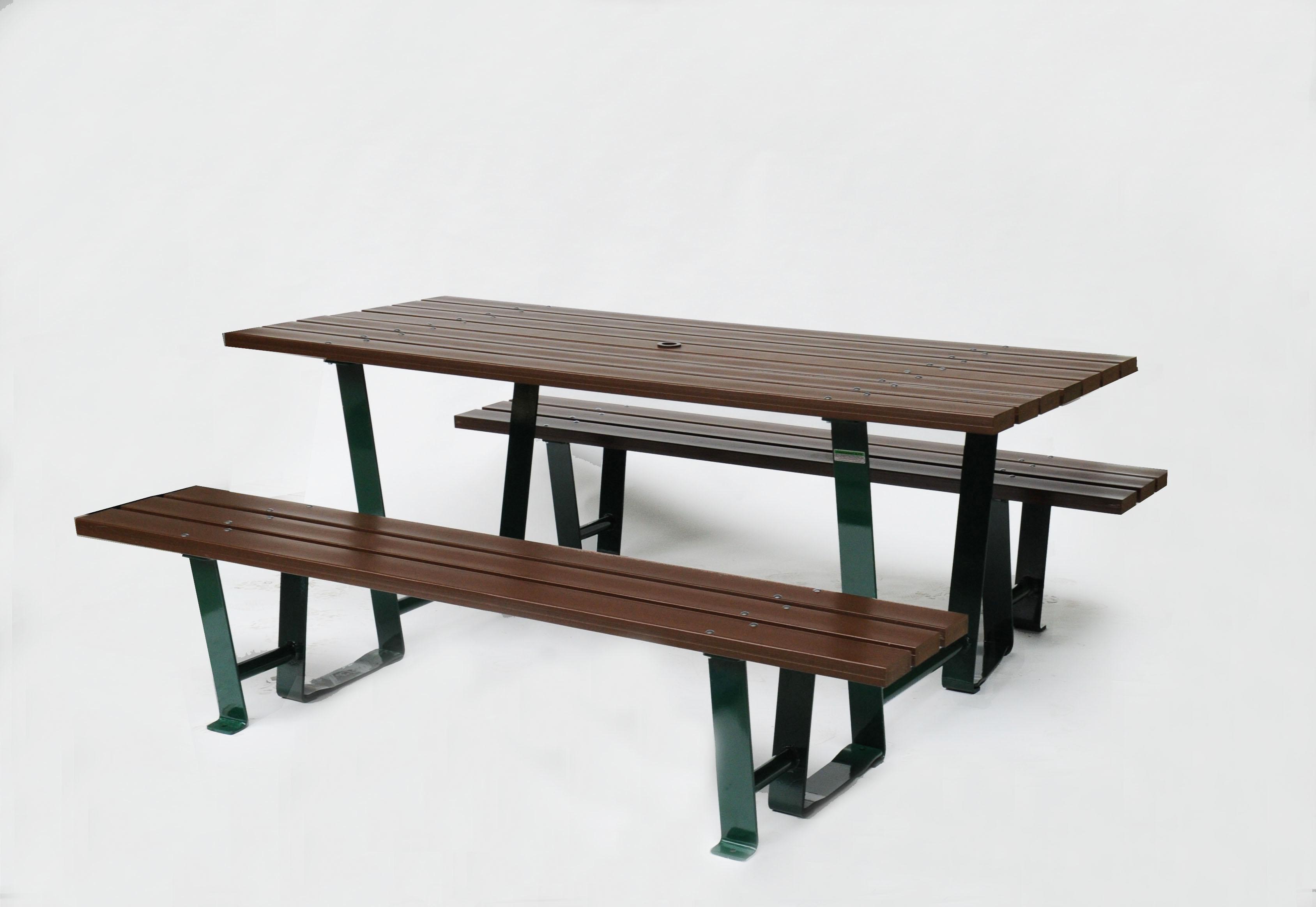 table de pique nique 180 cm. Black Bedroom Furniture Sets. Home Design Ideas