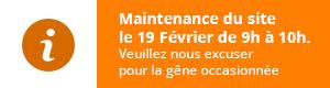Maintenance du site tap-shop.fr