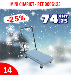 Mini chariot - Manutention