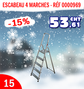 escabeau 4 marches