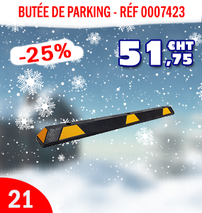 butée de parking