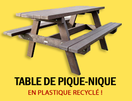 Table de pique nique