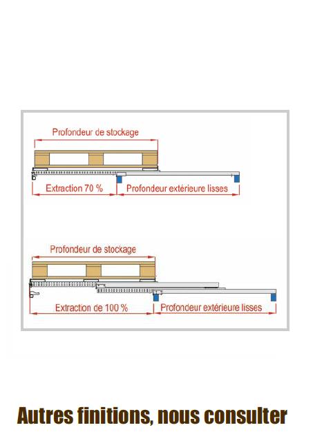 finition - tiroir standard